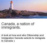 Canada - a nation of immigrants